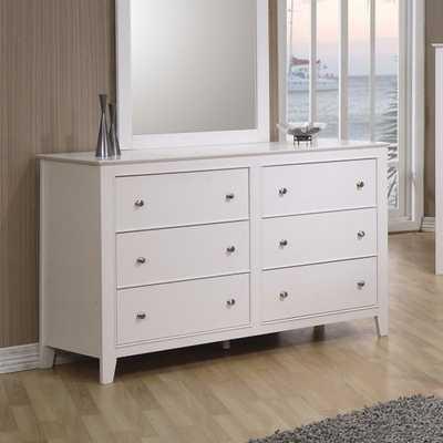 Clarendon 6 Drawer Double Dresser - Wayfair