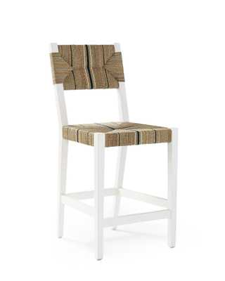 Carson Counter Stool - White - Serena and Lily