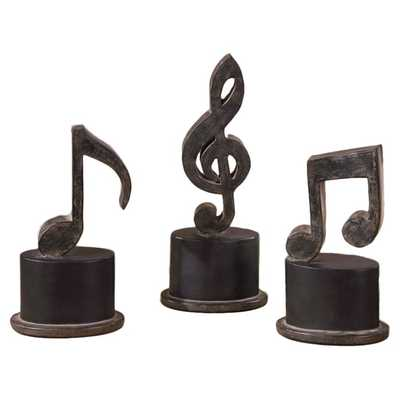 Music Notes, S/3 - Hudsonhill Foundry