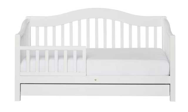 Clarkson Convertible Toddler Bed with Storage - Wayfair