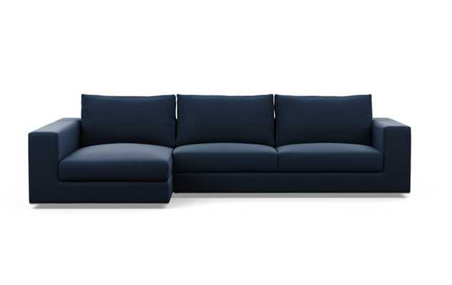 """WALTERS Sectional Sofa with Left Chaise, 111"""", Pacific Sunbrella - Interior Define"""