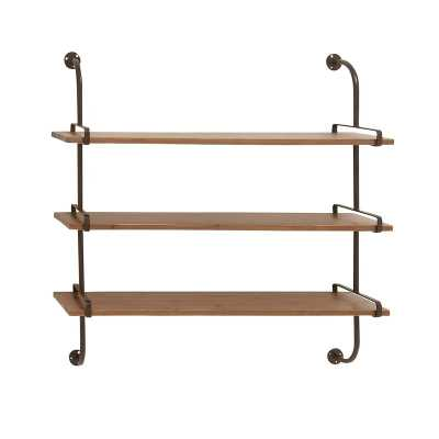 Fountain Valley Wood Wall Shelf - AllModern