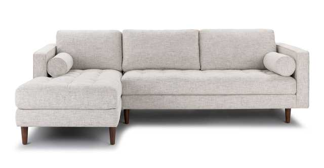 Sven left arm sectional - birch ivory - Article