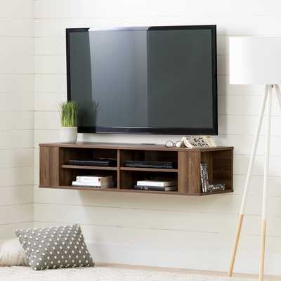 "City Life 48"" Floating TV Stand - AllModern"