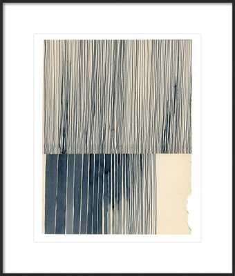 """Not a Circle (Payne's Grey 1),  22"""" x 26"""" - Artfully Walls"""