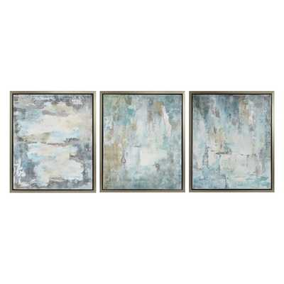 Genevere Framed Oil Painting - Ast 3 - Mercer Collection