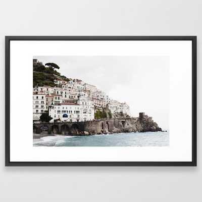 Amalfi Coast Framed Art Print - Society6