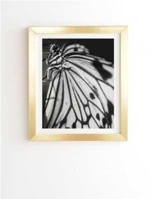 BUTTERFLY WINGS, Framed Art - Wander Print Co.