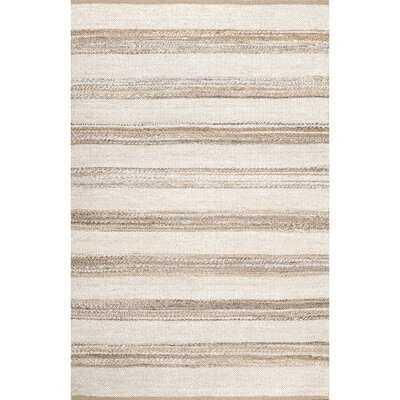 Cataldo Hand-Knotted Natural Area Rug - Wayfair