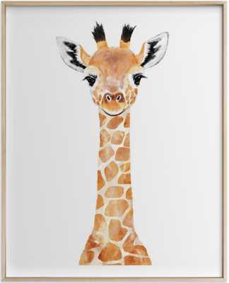 baby animal giraffe 2 - Minted