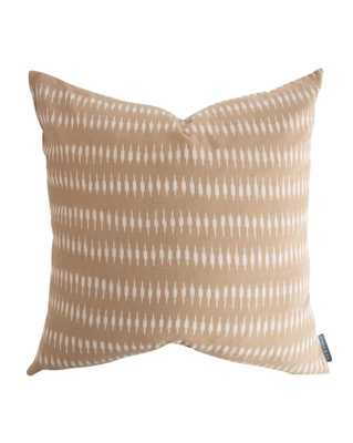 "LYLE PILLOW WITHOUT INSERT, 20"" x 20"" - McGee & Co."