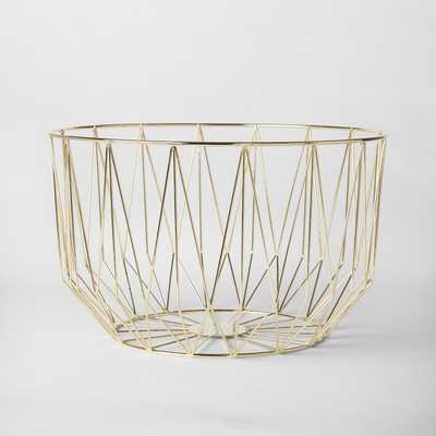 Decorative Basket - Gold - Project 62 - Target