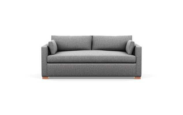 CHARLY SLEEPER Sleeper Sofa Seed w/ Walnut Legs - Interior Define