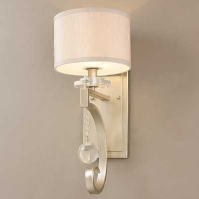SOPHISTICATED SCROLL AND GLAMOUR WALL SCONCE - Shades of Light