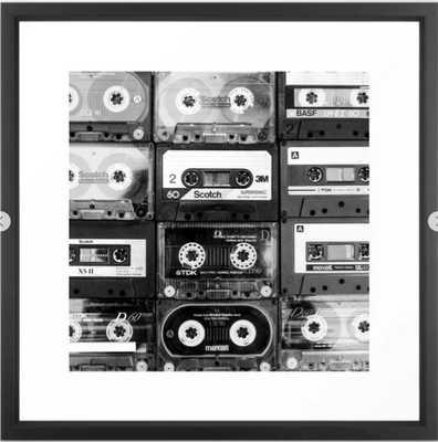Something Nostalgic - black and white #decor #buyart #society6 Framed Art Print - Society6