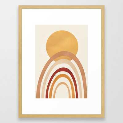 The Sun and a Rainbow II Framed Art Print - Society6