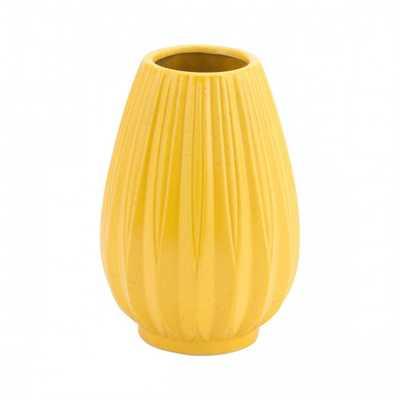 Acacia Sm Vase Yellow - Zuri Studios