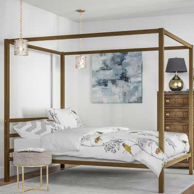 Stanley Canopy Bed (Full) - Wayfair