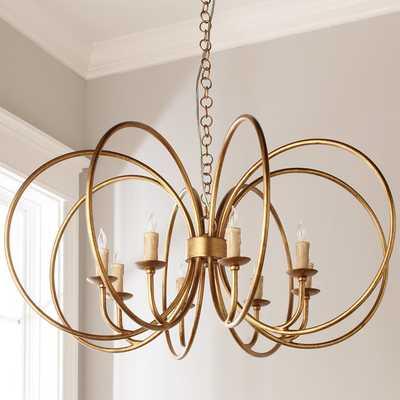 GOLDEN RINGS CHANDELIER - Shades of Light
