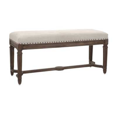 Grayson Upholstered Bench - Mercer Collection
