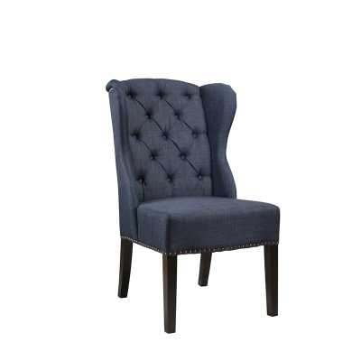 SIERRA LINEN WINGBACK DINING CHAIR - Abbyson Living