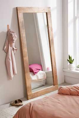 Ashton Mango Wood Mirror - Urban Outfitters
