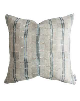 "CHARLIE PILLOW WITHOUT INSERT, 20"" x 20"" - McGee & Co."
