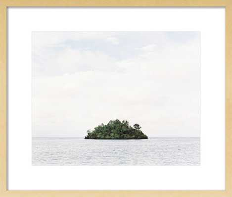 Island - 34x28 Print Size: 34x28 // Framed Size: 37x31 - Artfully Walls