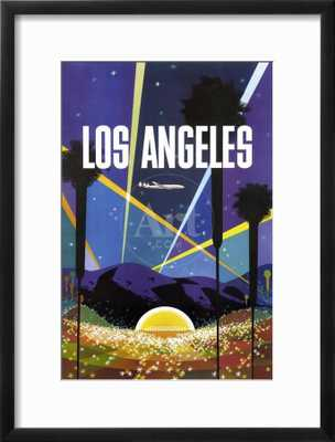 Los Angeles Vintage Poster - art.com