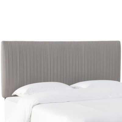 Sanford Pleated Upholstered Panel Headboard - AllModern