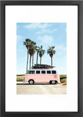 Venice Beach Framed Art Print - Society6
