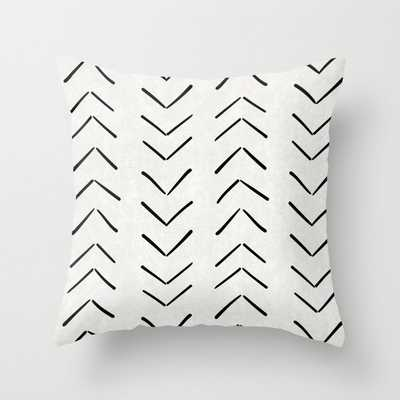 Mud Cloth Big Arrows in Cream - Indoor - Society6