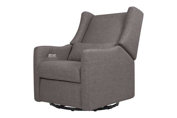 Kiwi Electronic Recliner and Swivel Glider with USB Port - Babyletto