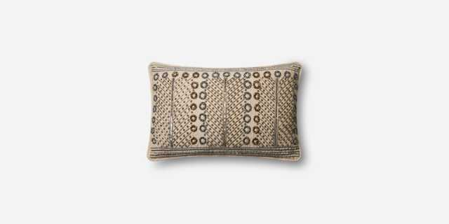"P0609 MULTI, 13"" x 21"" Pillow with Down Insert - Loma Threads"