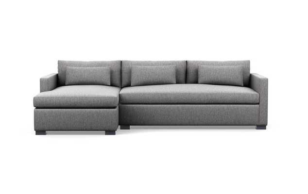CHARLY SLEEPER Sleeper Sectional Sofa with Left Chaise-Seed - Interior Define