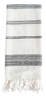 THOMPSON HAND TOWEL, GRAY - McGee & Co.