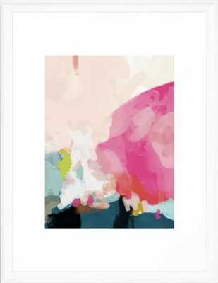 Pink sky Framed Art Print - Society6