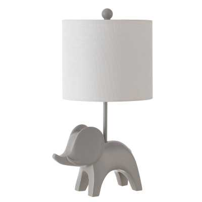 "Dalton Elephant 20"" Table Lamp - Wayfair"