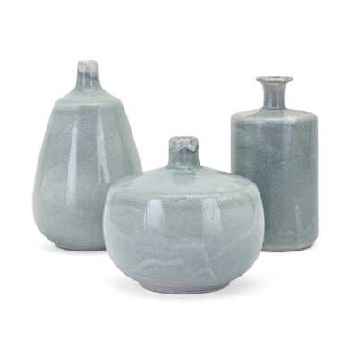 Searfoss Decorative Ceramic 3 Piece Table Vase Set See More from World Menagerie Shop (Average Product Rating  ) - Wayfair