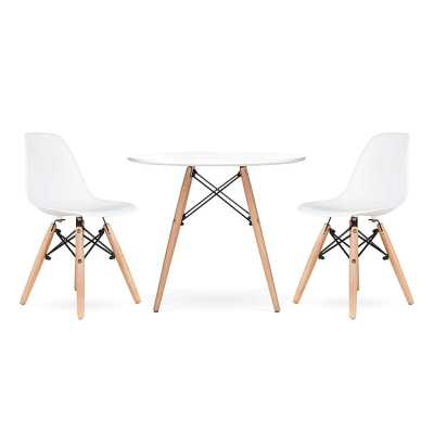 Parramore Kids 3 Piece Round Writing Table and Chair Set - Wayfair