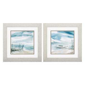 Propac Images Subtle Mist Framed Wall Art - Set of 2 - Hayneedle