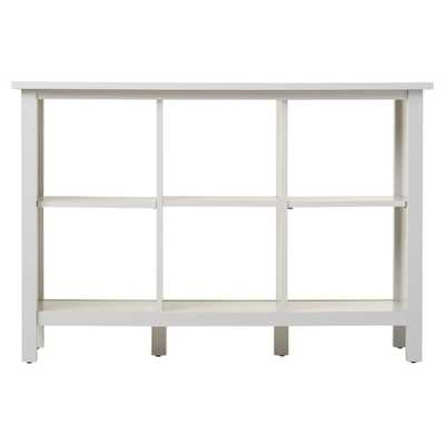 Broadview Cube Unit Bookcase in Antique White - Wayfair