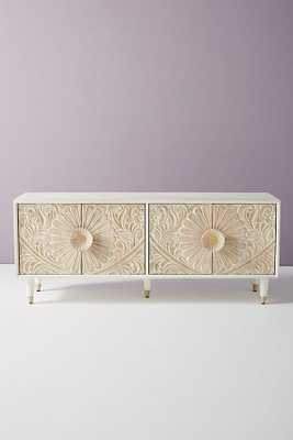 Gulliver Media Console, whitewashed - Anthropologie