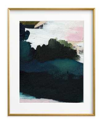 """Into The Mist III  - 16"""" x 20"""" - Gilded Wood Frame - Matted - Minted"""