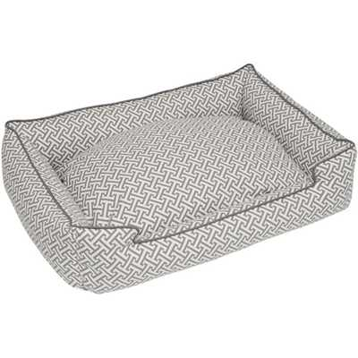 Hera Everyday Cotton Lounge Bolster Dog Bed - Wayfair