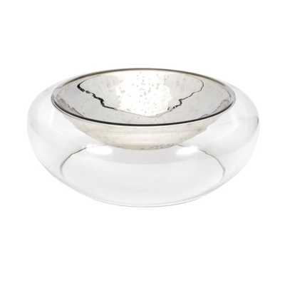 TY Luxe Decorative Glass Bowl - Mercer Collection