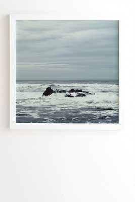 OCEAN ROCK CRASH - 30x30 - Wander Print Co.