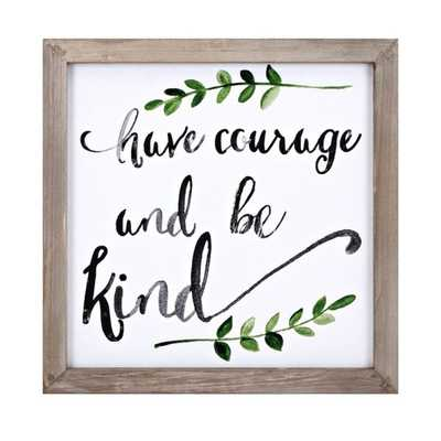 Courage Wall Decor - Mercer Collection