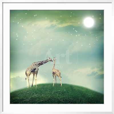 Giraffes in Friendship - 30 x 30 - art.com