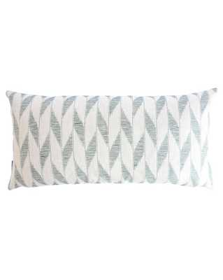 """FLORENCE PILLOW WITHOUT INSERT, 12"""" x 24"""" - McGee & Co."""